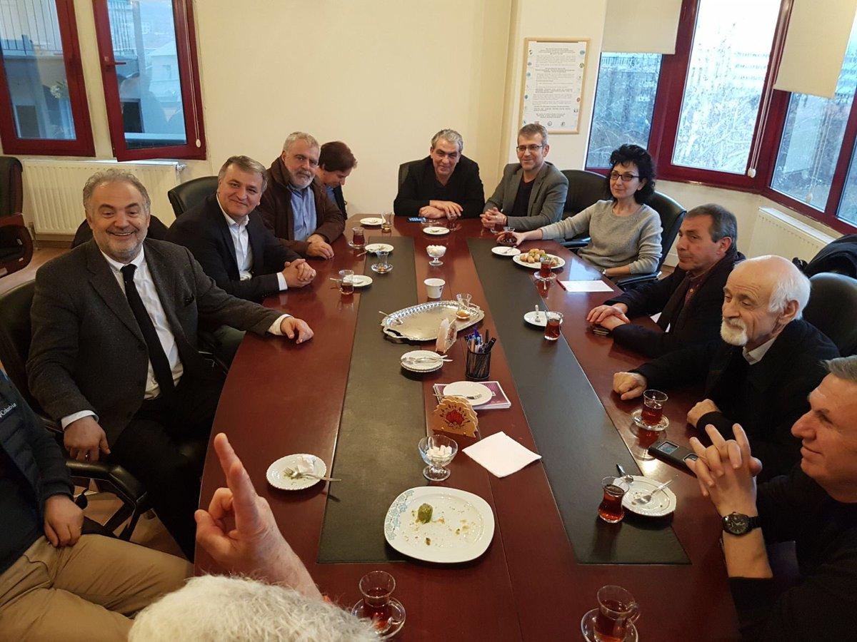 TTB'ye dayanışma ziyaretinde bulunduk. @...