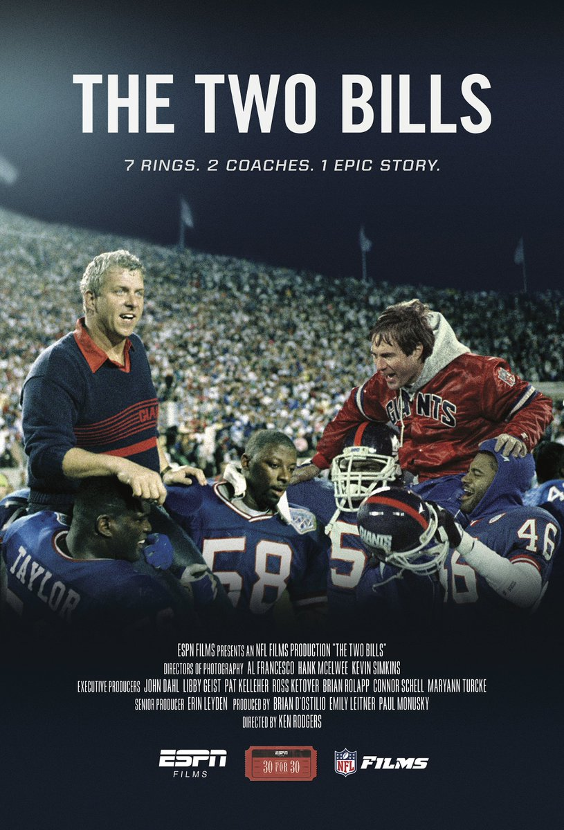 We're giving away a #TheTwoBills poster! RT and follow us for a chance to win! @Giants