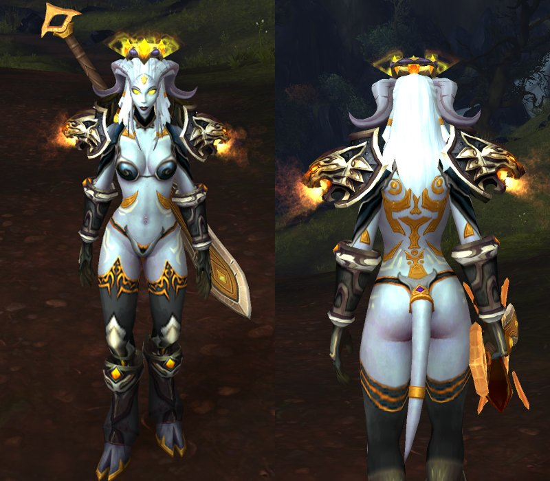 sexiest female armor wow