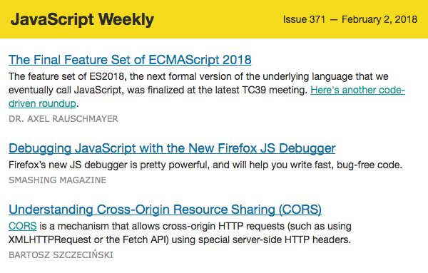 JavaScript Daily on Twitter: