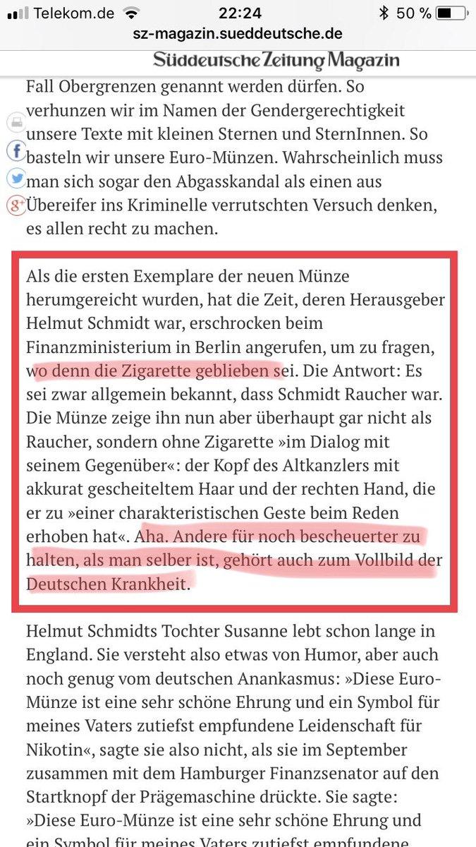 Andreas Patzwahl On Twitter Die Neue Euro Münze Zeigt Helmut