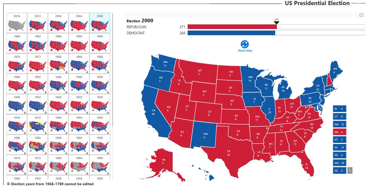 Maq Software On Twitter New Power Bi Case Study Our Interactive - Us-election-map-interactive