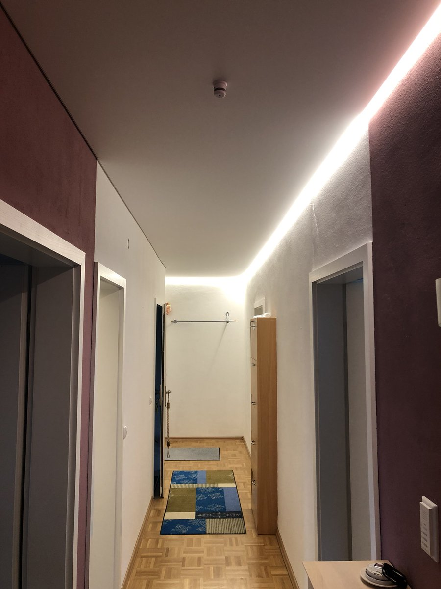 christof brixner on twitter cbspanndecken projekt von heute spanndecke in mannheim spanndecke. Black Bedroom Furniture Sets. Home Design Ideas