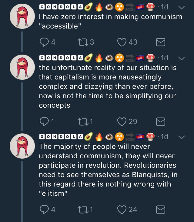 siggon kristov on twitter so analpissmachine thinks communism is about being edgy and. Black Bedroom Furniture Sets. Home Design Ideas