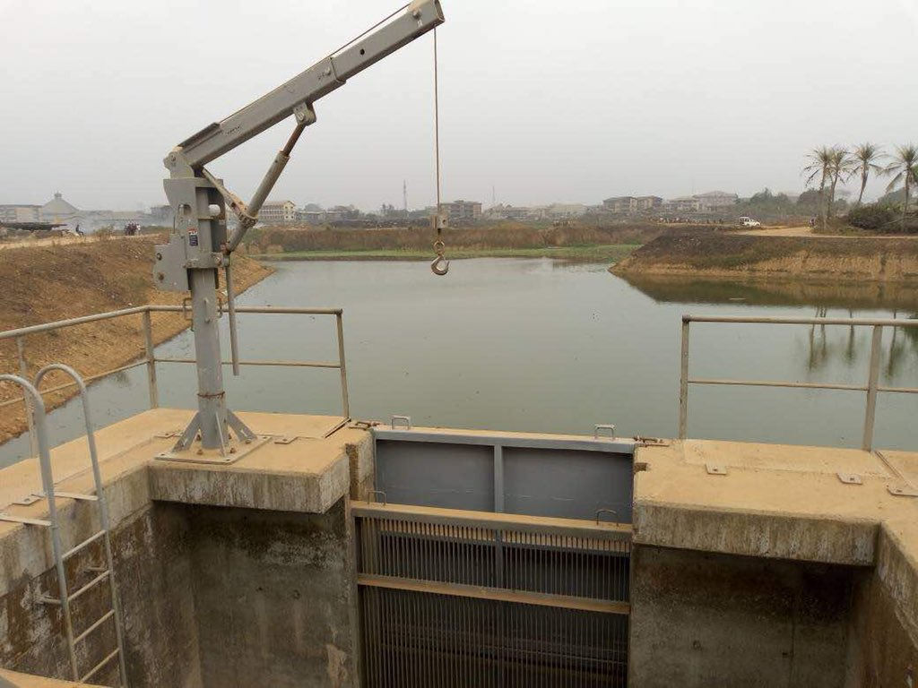 Flooding Problems In Aba Dr Okezie Ikpeazu Is Constructing A Water Collection Dam That S And Evacuates All Running Waters City To Control