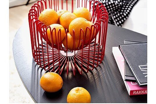 Speaking Of Super Bowls I M Actively Trying To Track Down A Discontinued Ikea Trådig Red Wire Fruit Bowl Hmu If You Ve Got One Not Joke Keep