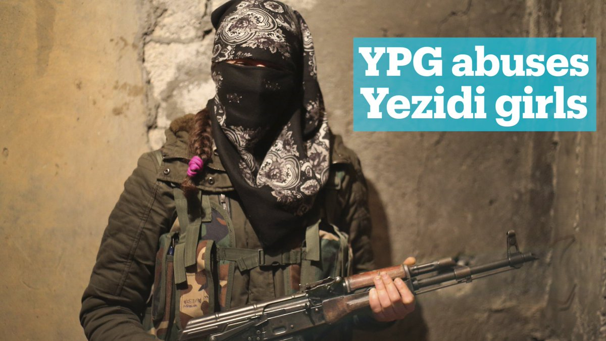 This Yezidi girl was kidnapped and recru...