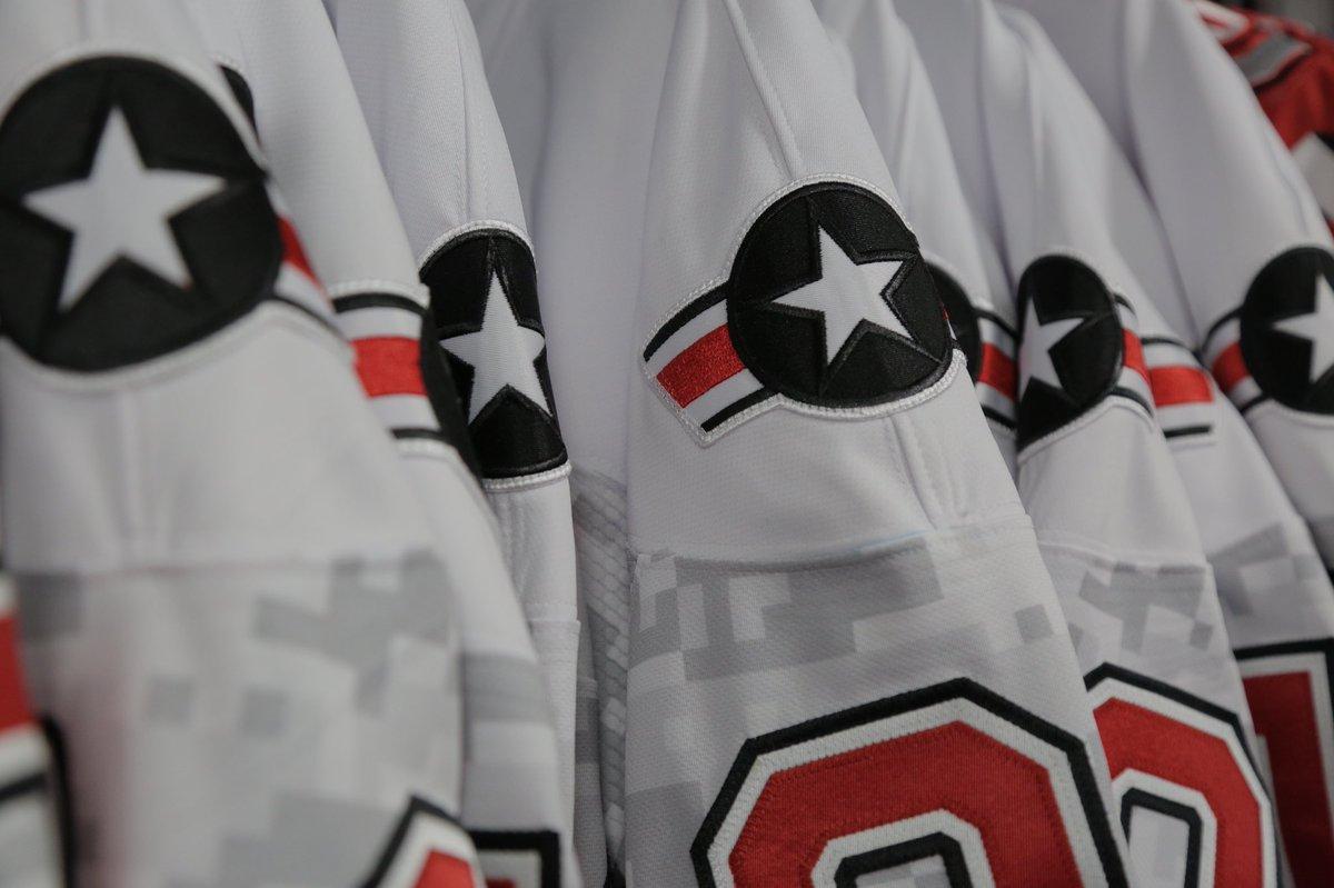 super popular dcc7e 975fd Ohio State Men's Hockey on Twitter:
