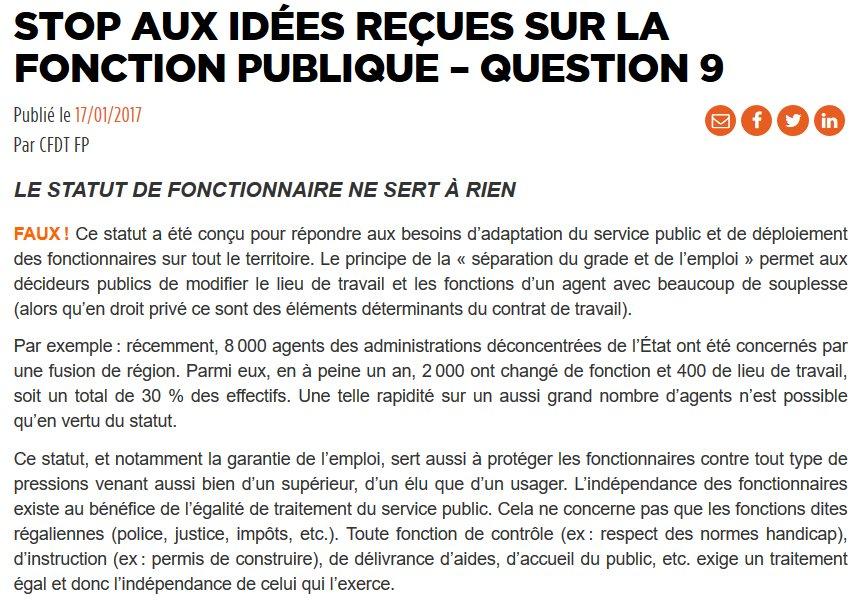 25e60c2bf2e ... Le vrai-faux complet de  UffaCFDT est ici   https   uffa.cfdt .fr portail uffa actualites-elections-fp-2018 vrai-faux-fonction-publique-srv1 403898  … ...