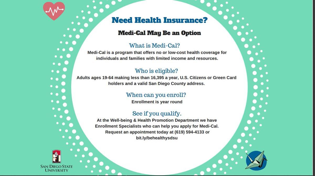 Sdsu Health Insurance >> Sdsu Financial Aid On Twitter Sdsu Students
