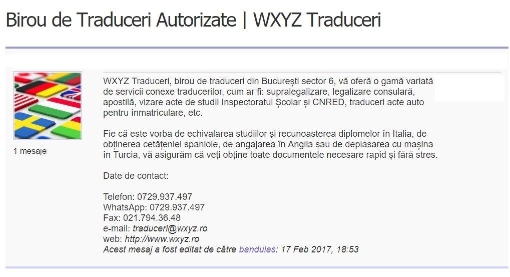 birou traduceri bucuresti | expert for you