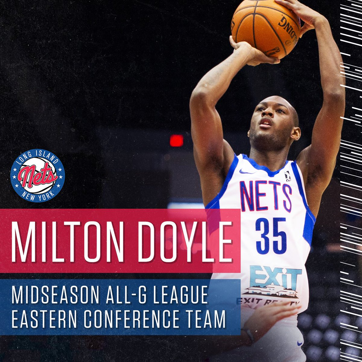 Congrats to @MDLU35 on being named to the Midseason #AllGLeague East Team 💪  ➡️ http://on.nba.com/2DX9x7S