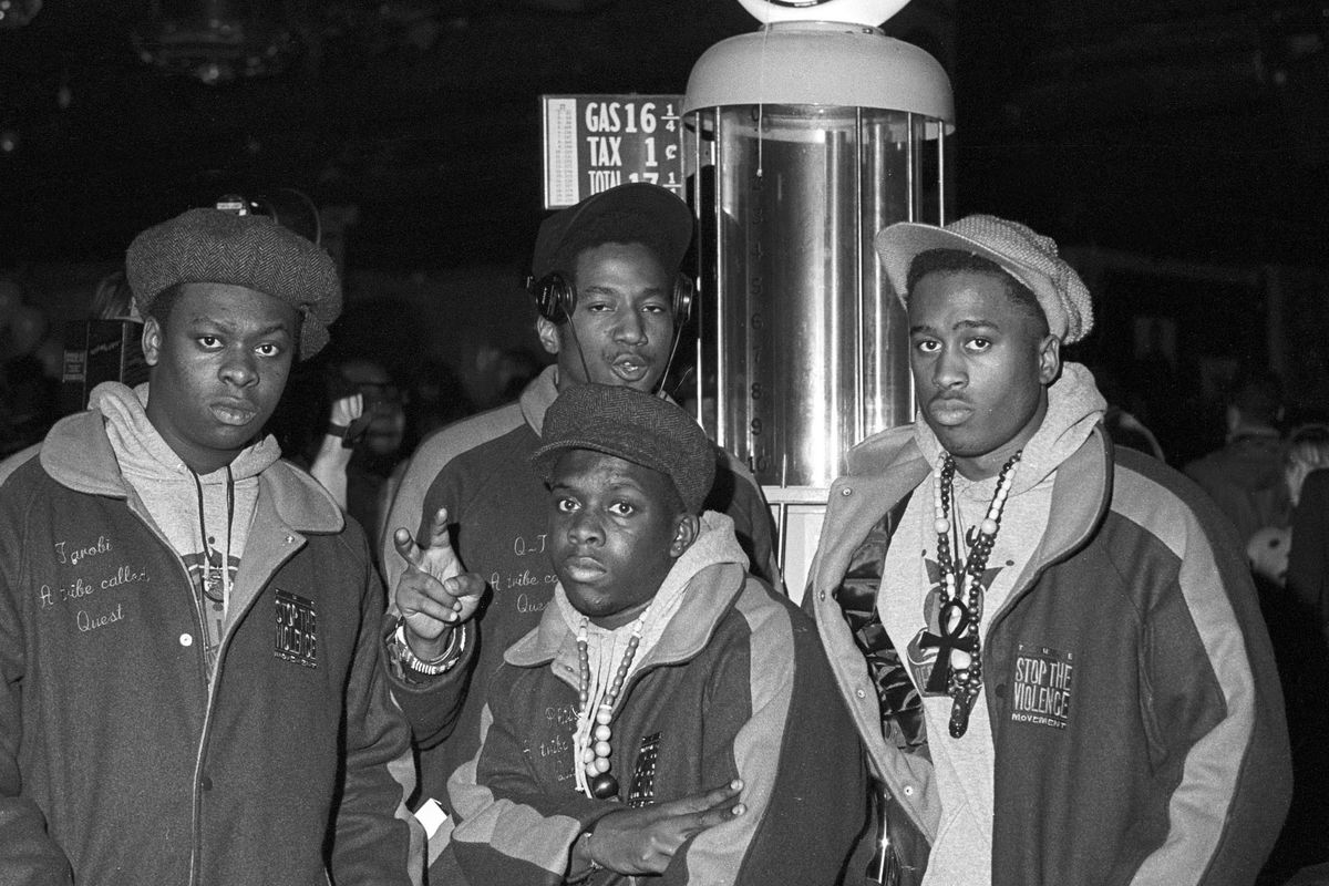 Dailyrappics On Twitter A Tribe Called Quest Circa 1990