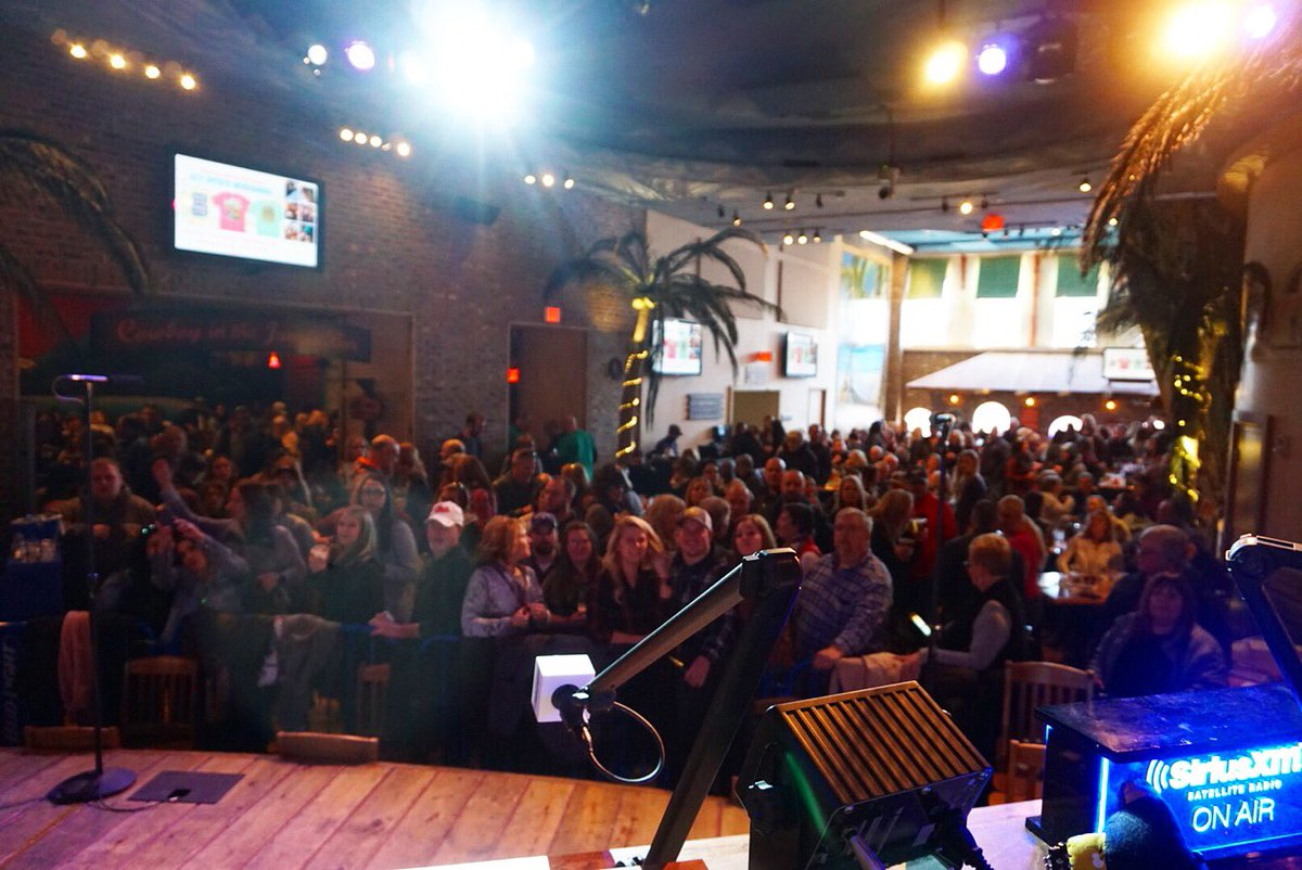 "siriusxm the highway on twitter: ""packed house here at"
