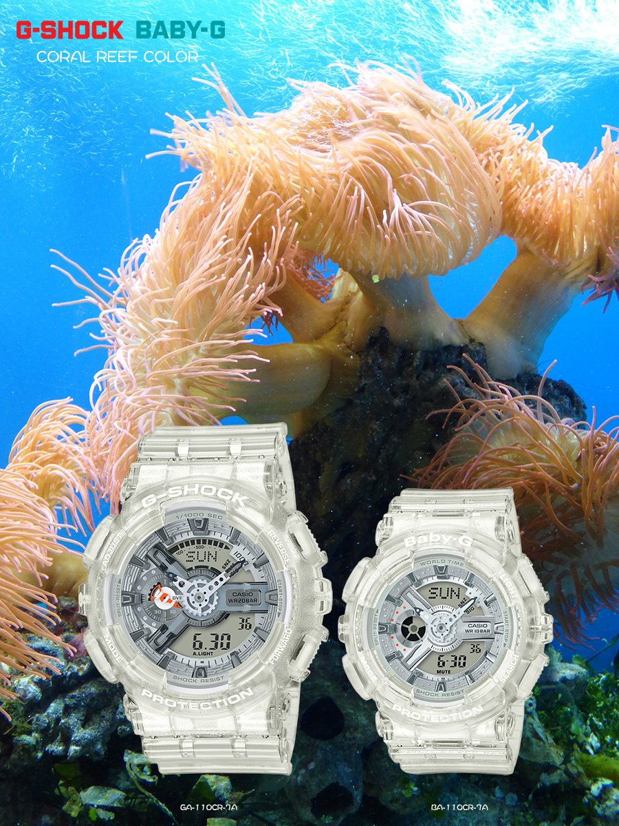 74bcc8f10cb From 2018 G-SHOCK and BABY-G will be endorsing and supporting the  activities of AQUA PLANET