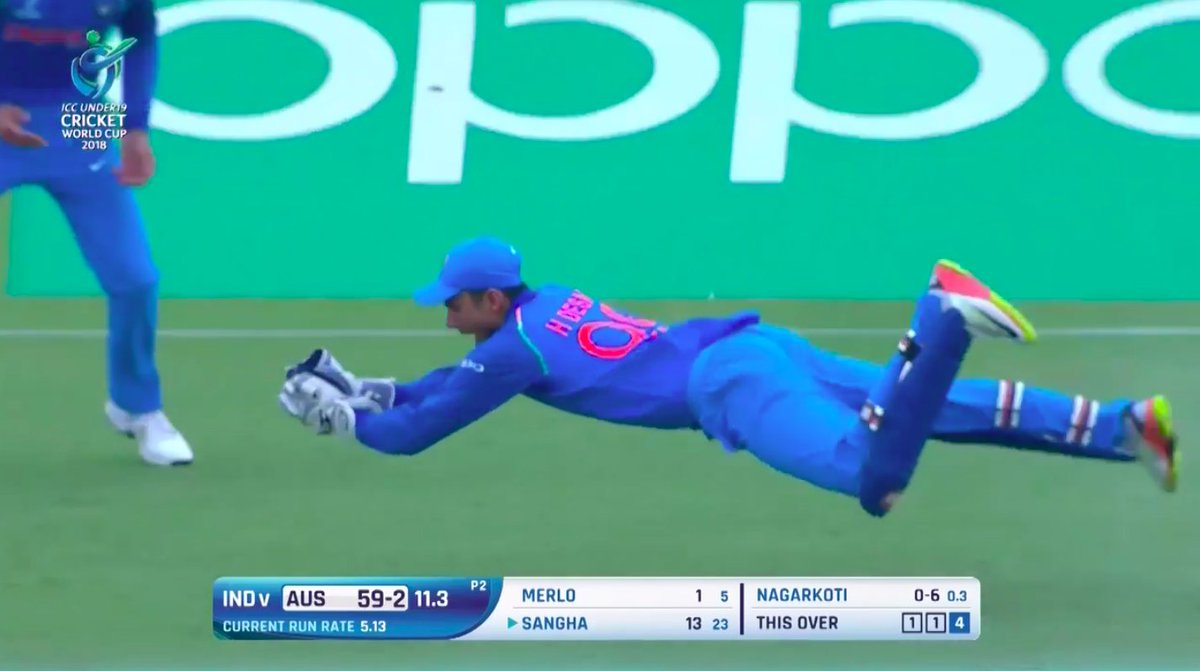 Good catch by Harvik