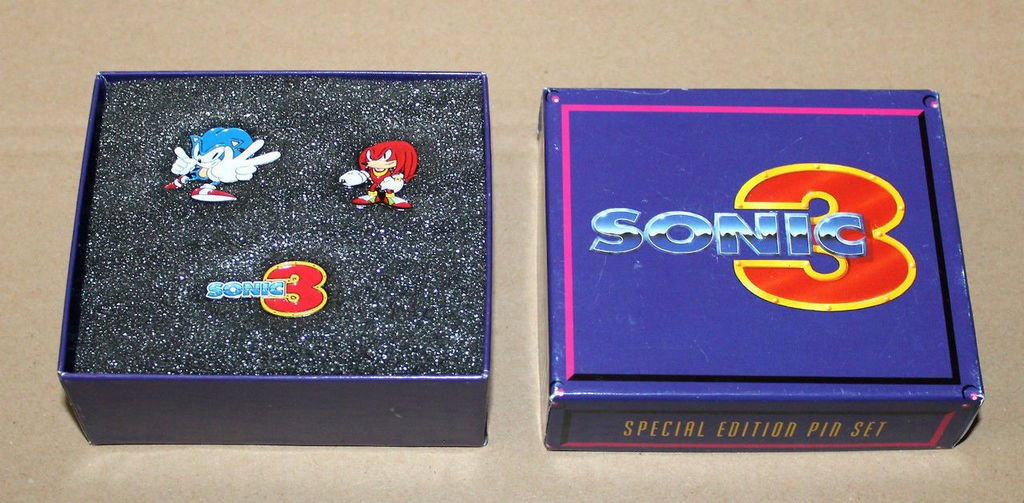 A special edition pin set released for '...