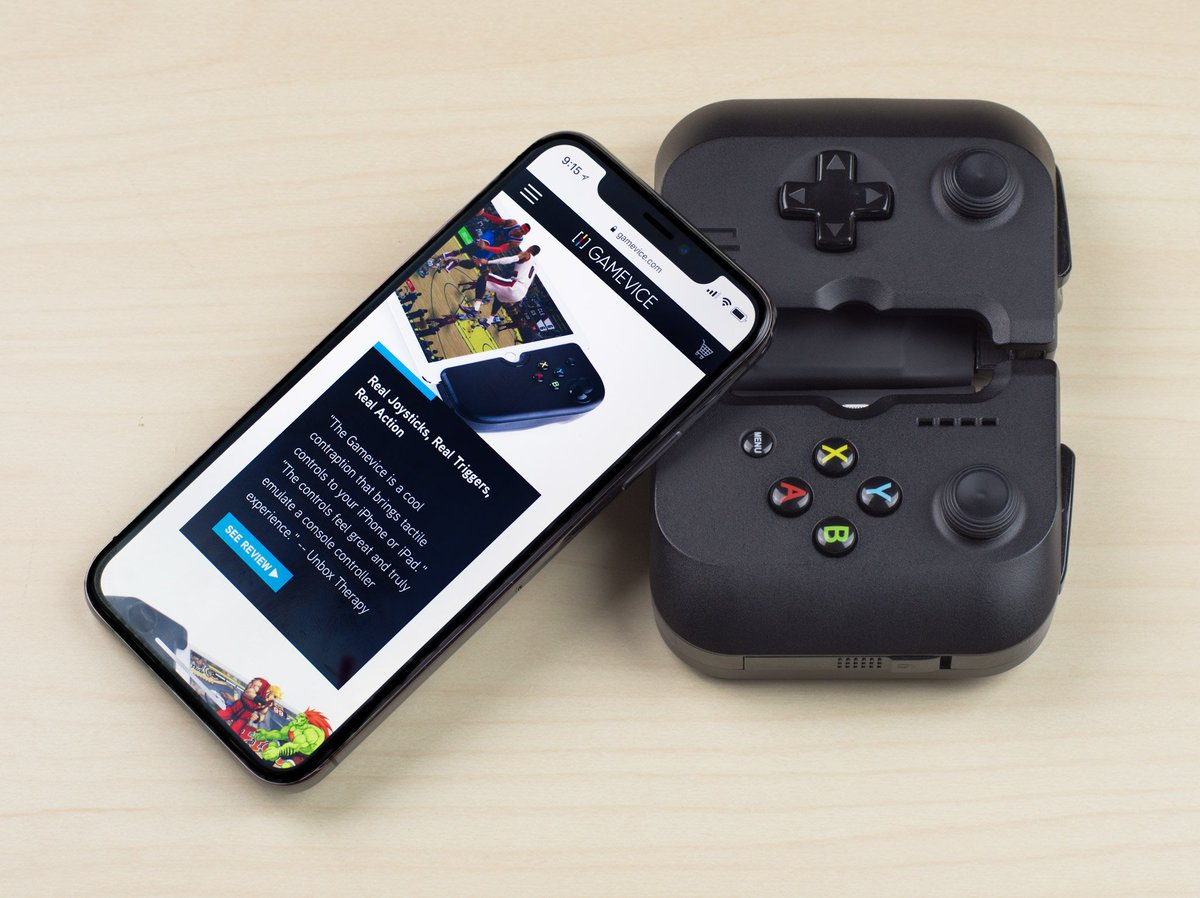 low priced 4c467 f57d8 Gamevice on Twitter: