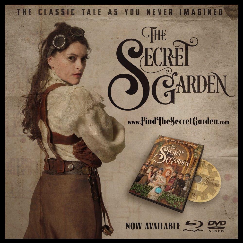order the secret garden today at httpwwwfindthesecretgardencom dvd bluray steampunk secretgarden movie adventure fantasy scifi film family - Secret Garden Movie