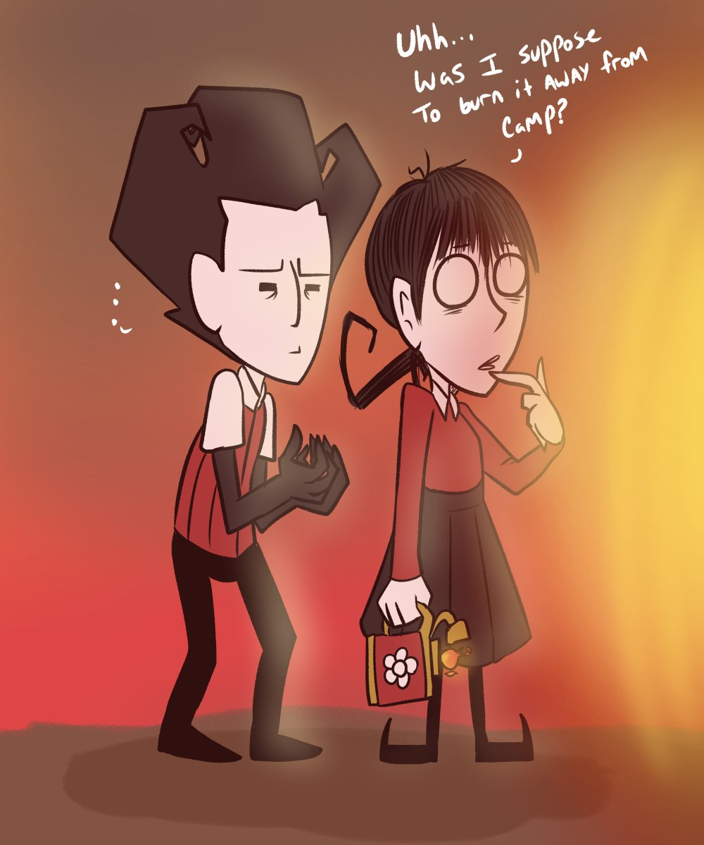 Have you ever had a moment like this? #dst #dontstarve