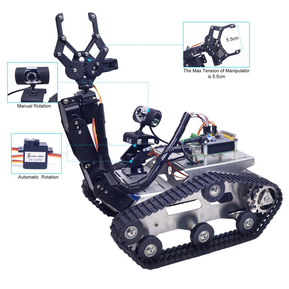 Robot Maker-XiaoR Geek on Twitter:
