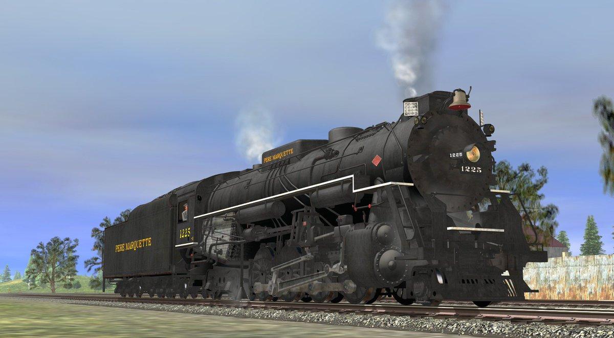 pere marquette 1225 trainz