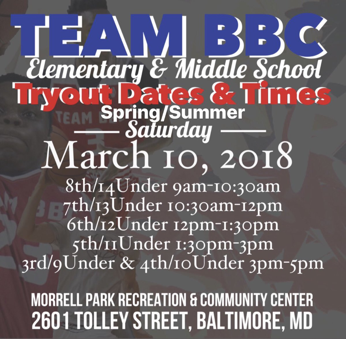 4th grade10u class of 2026 theteambbc2026 twitter where morrell park recreation community 2601 tolley streetbaltimore md bring birth certificate most recent report cardpicitterpdwoopbdhf 1betcityfo Images