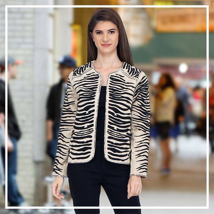 Make a statement in every way in this Tiger detailed Jacket. Shop now at: http://www.sexyandbroke.com  #SexyandBroke #OOTD #StripeUp #ZebraStripe #TigerDetailedJacket #OnlineShopping #TrendAlert #Jacket #WinterTrends #ShopNow #ChicStyle #TrendingNow