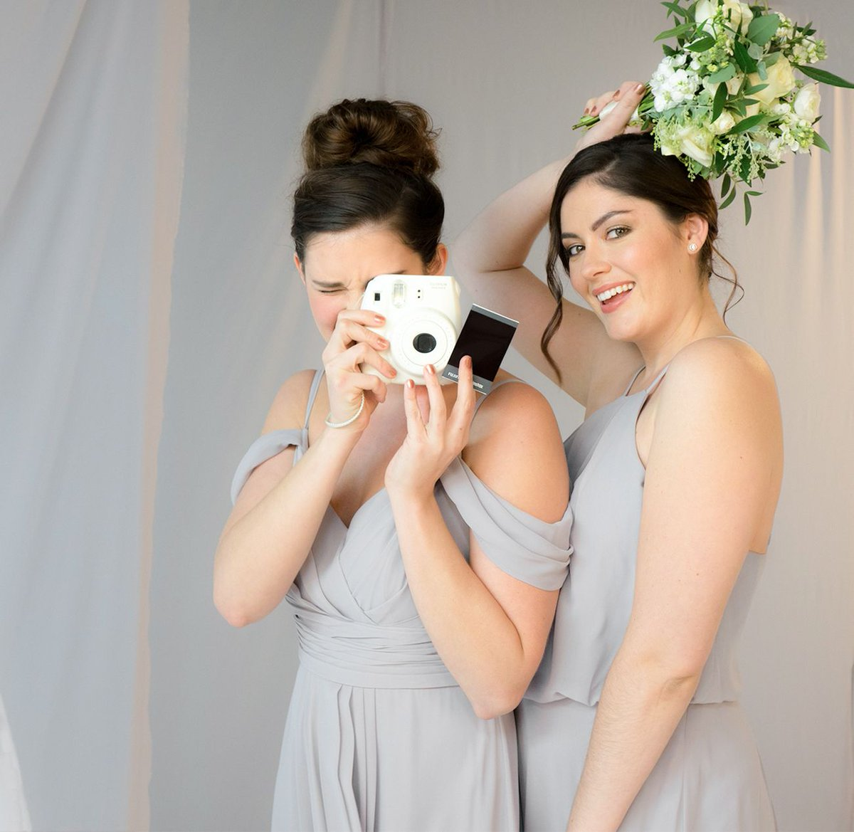 Wed2b on twitter our silver grey bridesmaids dresses by infinite wed2b on twitter our silver grey bridesmaids dresses by infinite are a neutral shade with a modern contemporary feel these bridesmaid dresses are ombrellifo Choice Image