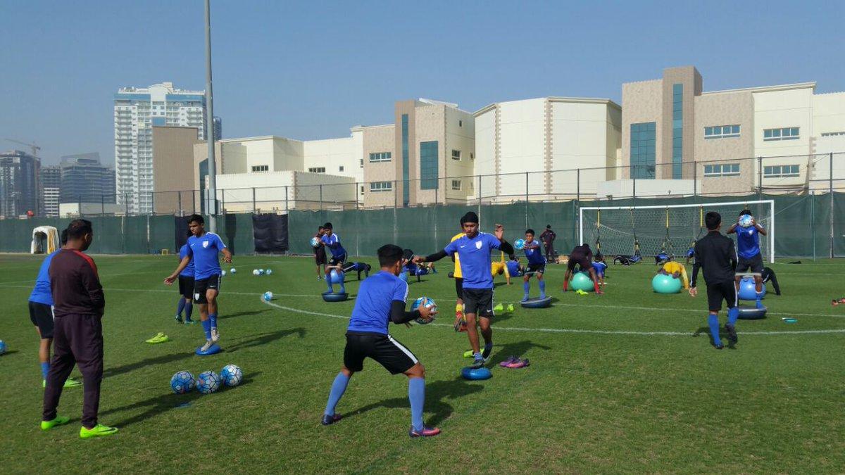 Indian u16 team training