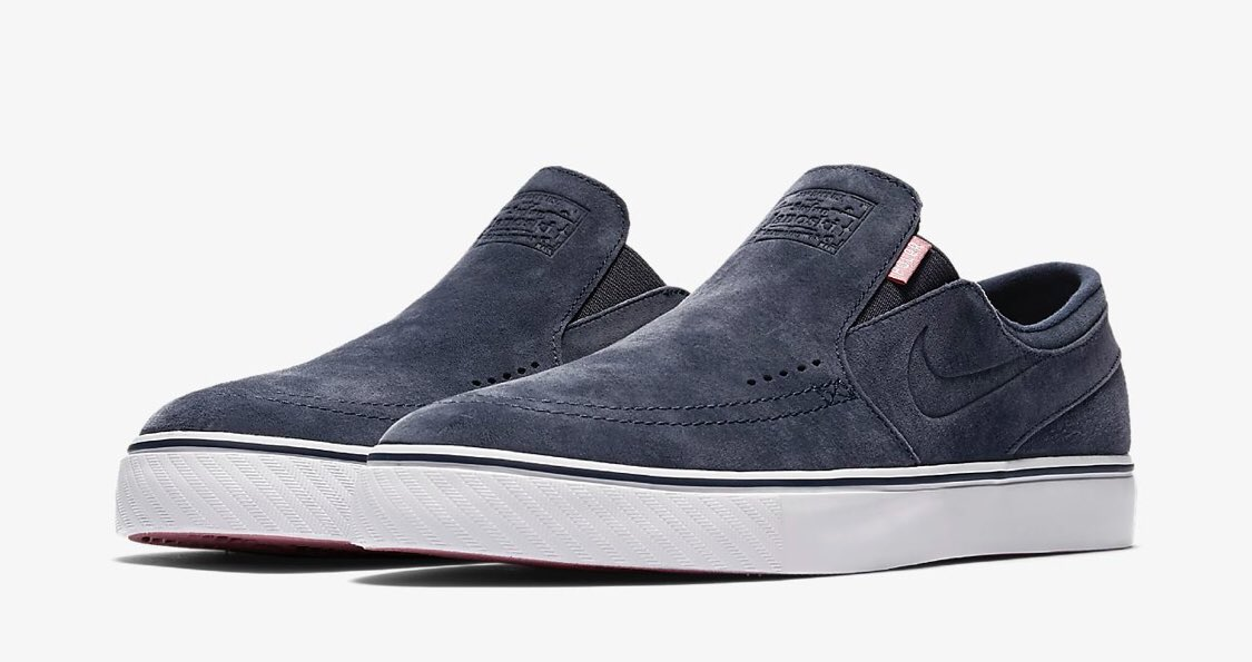 be58afba4d39f1 Nike SB x Poler Zoom Stefan Janoski Slip-On suede is available now on Nike  Buy-  https   bit.ly 2saLXiH pic.twitter.com ZCNLX7VFJZ