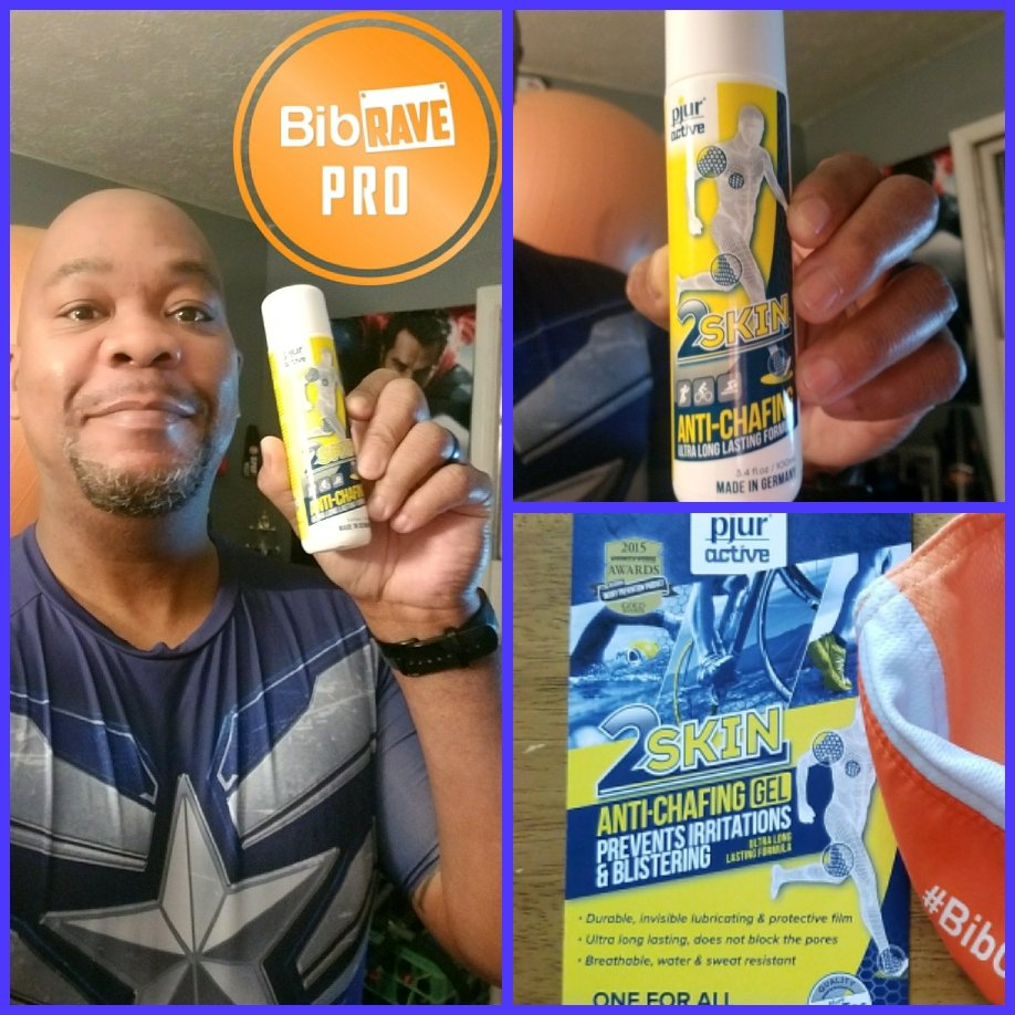"Before I headed out on my 10 mile training run, I used my @pjuractive anti chafing gel and it, as usual, worked WONDERS! No, post run, hot shower PAIN due to ""finding"" chafe marks. #BibChat #2skin #pjuractive #pjuractive2skin #BibRavePro #mwpro<br>http://pic.twitter.com/xmilHkPIcW"