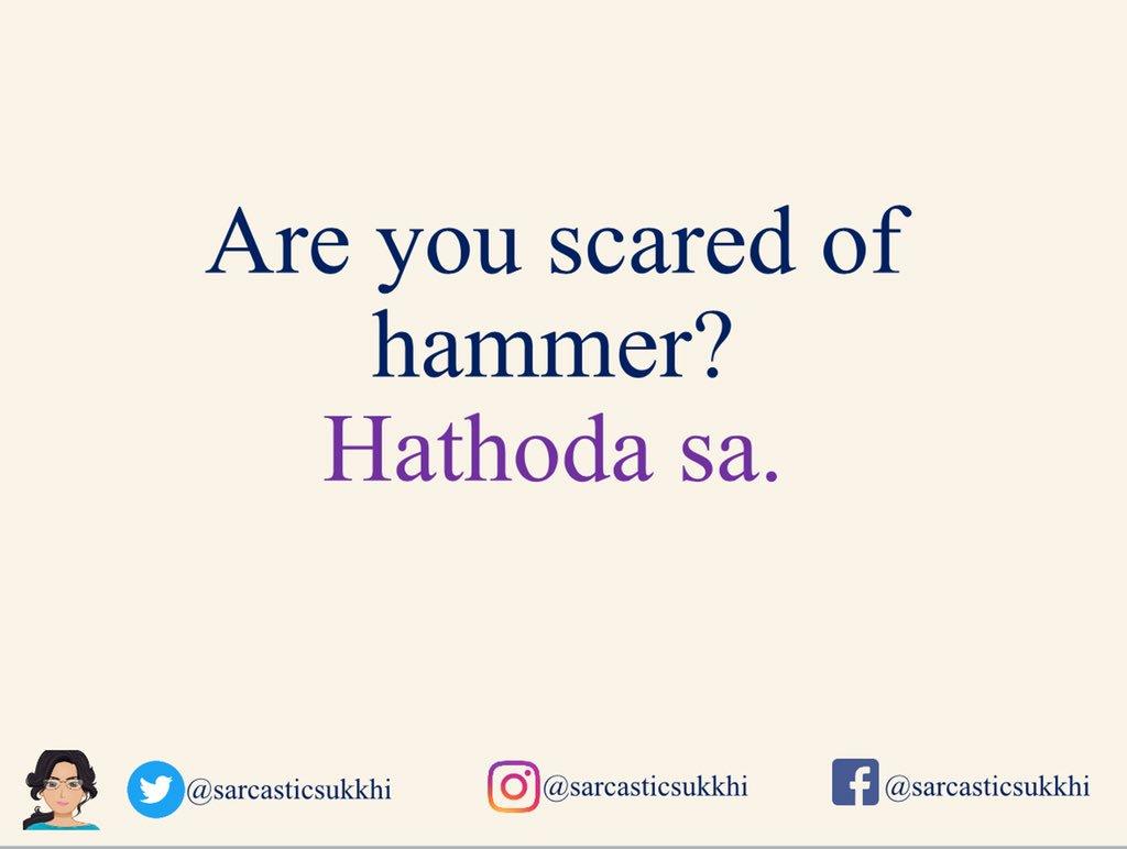 Sukkhi On Twitter Little Injuries Hindi Hindijokes