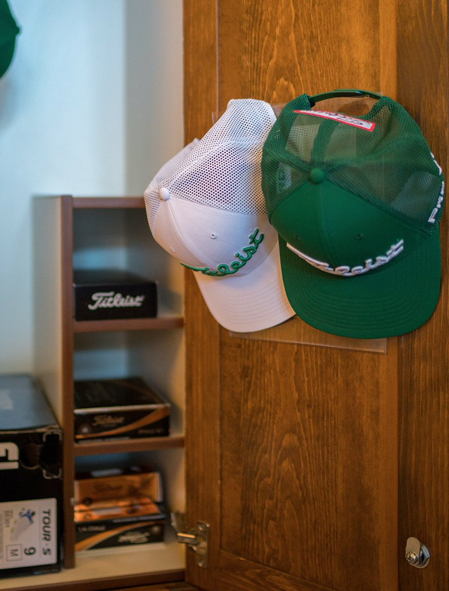 ... Tour Snapback Mesh hat from Titleist in White AND Green that will be on  special display today in Phoenix. 6171ada0c44