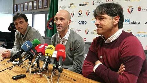 Desde La Banda - Fútbol Navarro (DLB-FN) | Javier Eseverri en rueda de prensa.