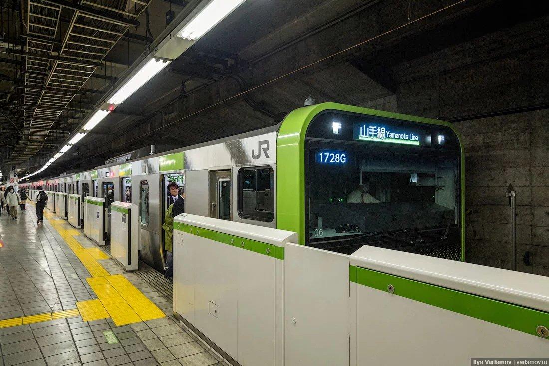 метро токио картинки