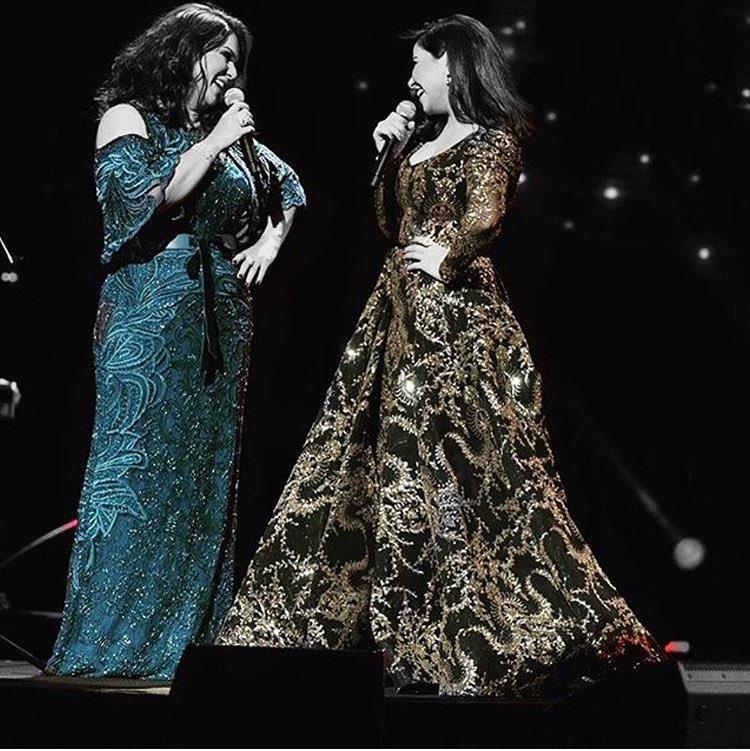 @NAWALalq8iya واحنا استمتعنا بالطرب ملكة...