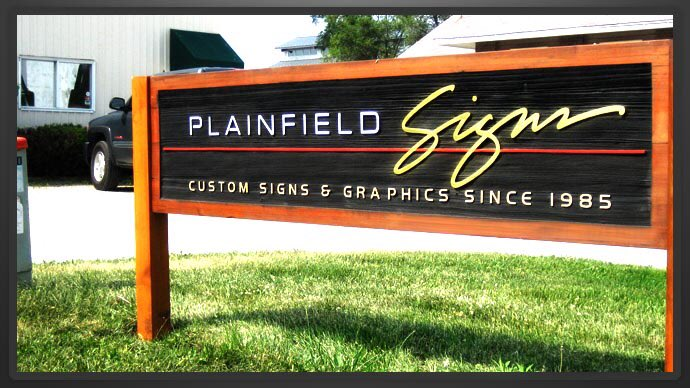 This Is The Actual Sign Outside A Company Near Me And It Baffles How Anyone Would Ever See Then Buy From Plainfield
