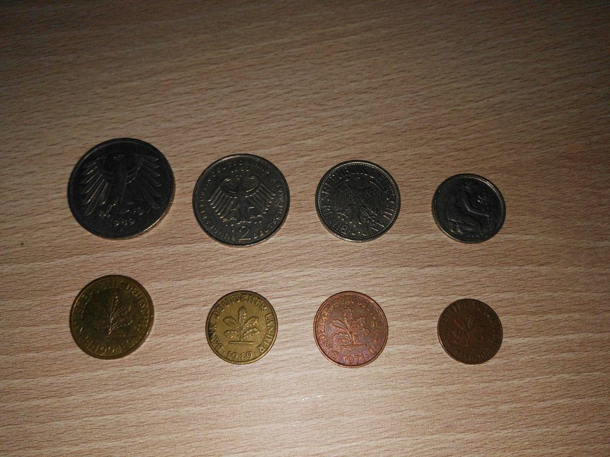 Kai Rose On Twitter Die D Mark Münzen 1 Pfennig Bis 5 Mark