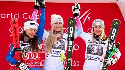 Lindsey Vonn wins 80th World Cup race in Garmisch-Partenkirchen http://dlvr.it/QDsp27