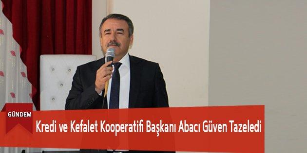 'Kredi ve Kefalet Kooperatifi Başkanı Ab...