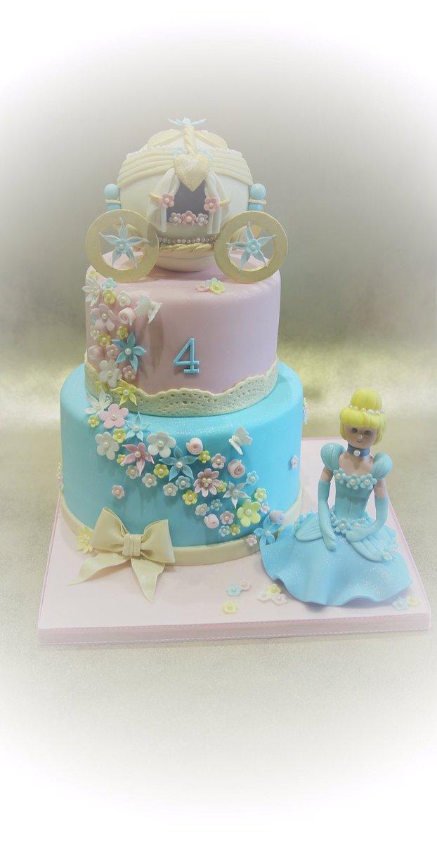 Fabulous Anita B Cakes On Twitter So Loved Making Todays Cinderella Personalised Birthday Cards Petedlily Jamesorg