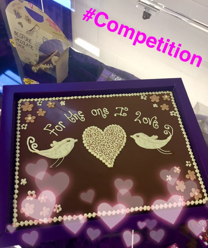 Treat your loved one this #ValentinesDay! You could be the lucky winner of our #COMPETITION! WIN a personalised chocolate plaque 😍. RT before 05/02 to enter! T&Cs are available on our website.