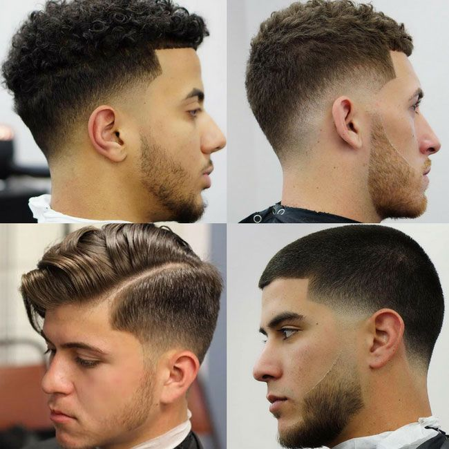 the types of the barber cuts A good stylist or barber will be able to give you any cut you want and will make you feel great leaving the salon, but once you're home it's up to you to maintain it by choosing a cut that doesn't suit your hair type, length or face shape, you're setting yourself up to fail and in the process, look ridiculous.