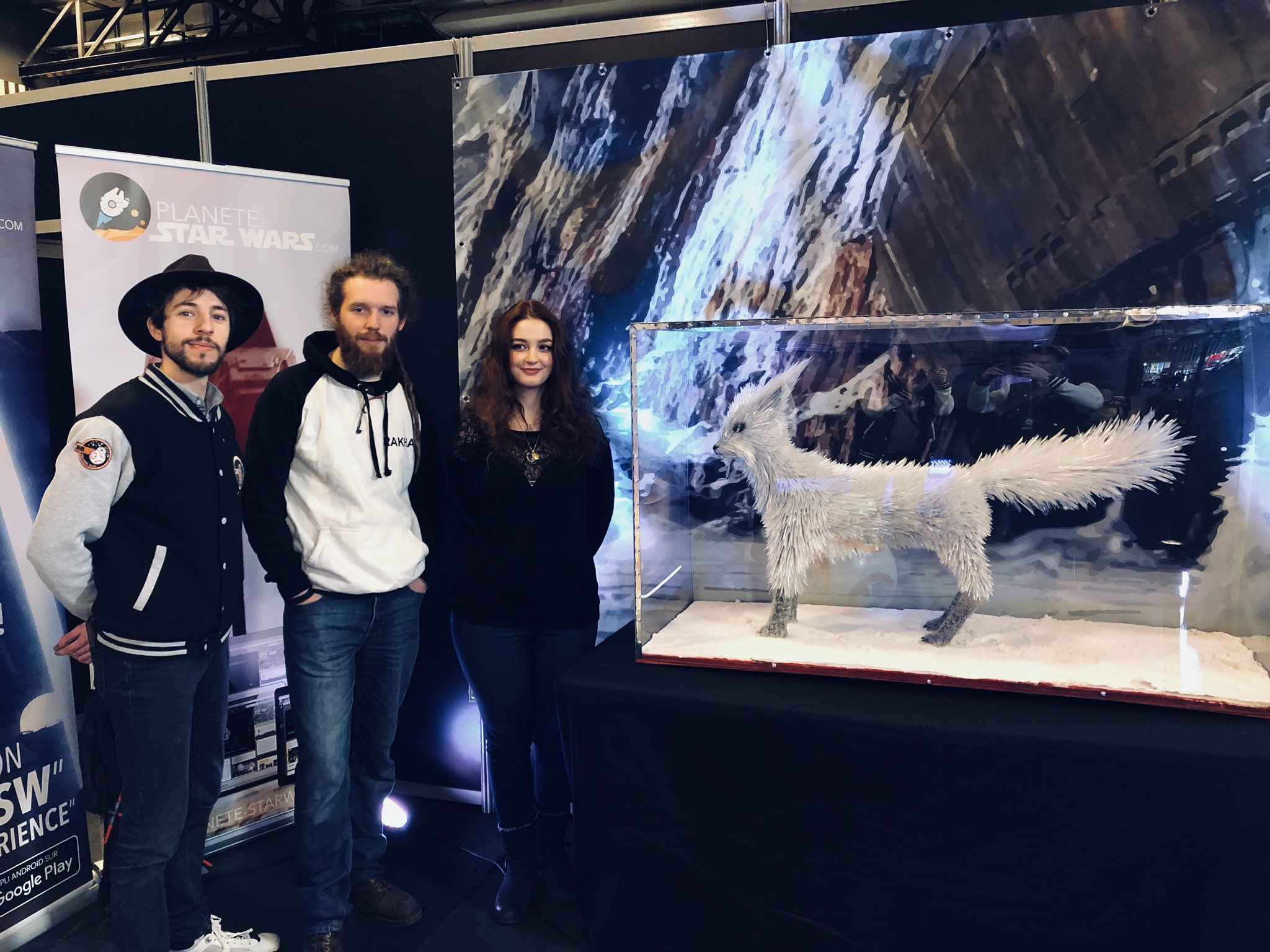 Planete Star Wars On Twitter First Fan Made Vulptex In The World Showed In Paris At Parismanga What Do You Think Rianjohnson And Hamillhimself Starwars Starwarsfr Https T Co Hmrwv5m2i1