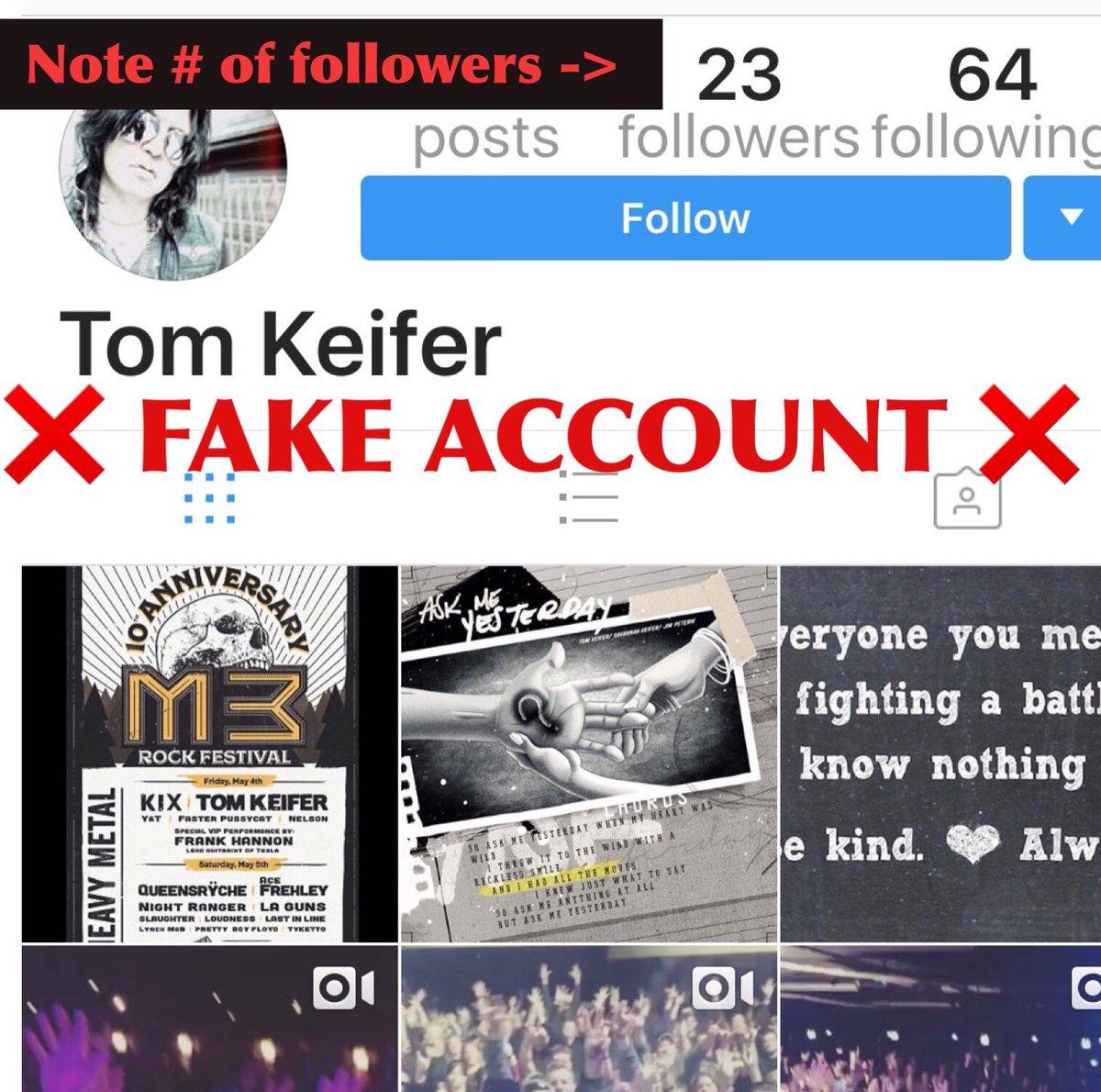 Tom Keifer on Twitter:
