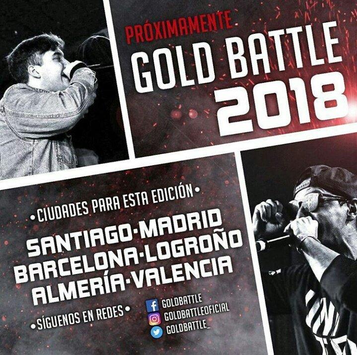 Resultado de imagen de gold battle valencia 2018