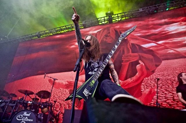 RT @TheOzzfest: Alexi Laiho with Children Of Bodom (@cobhc)at #Ozzfest 2017 https://t.co/J4BlemcPRt