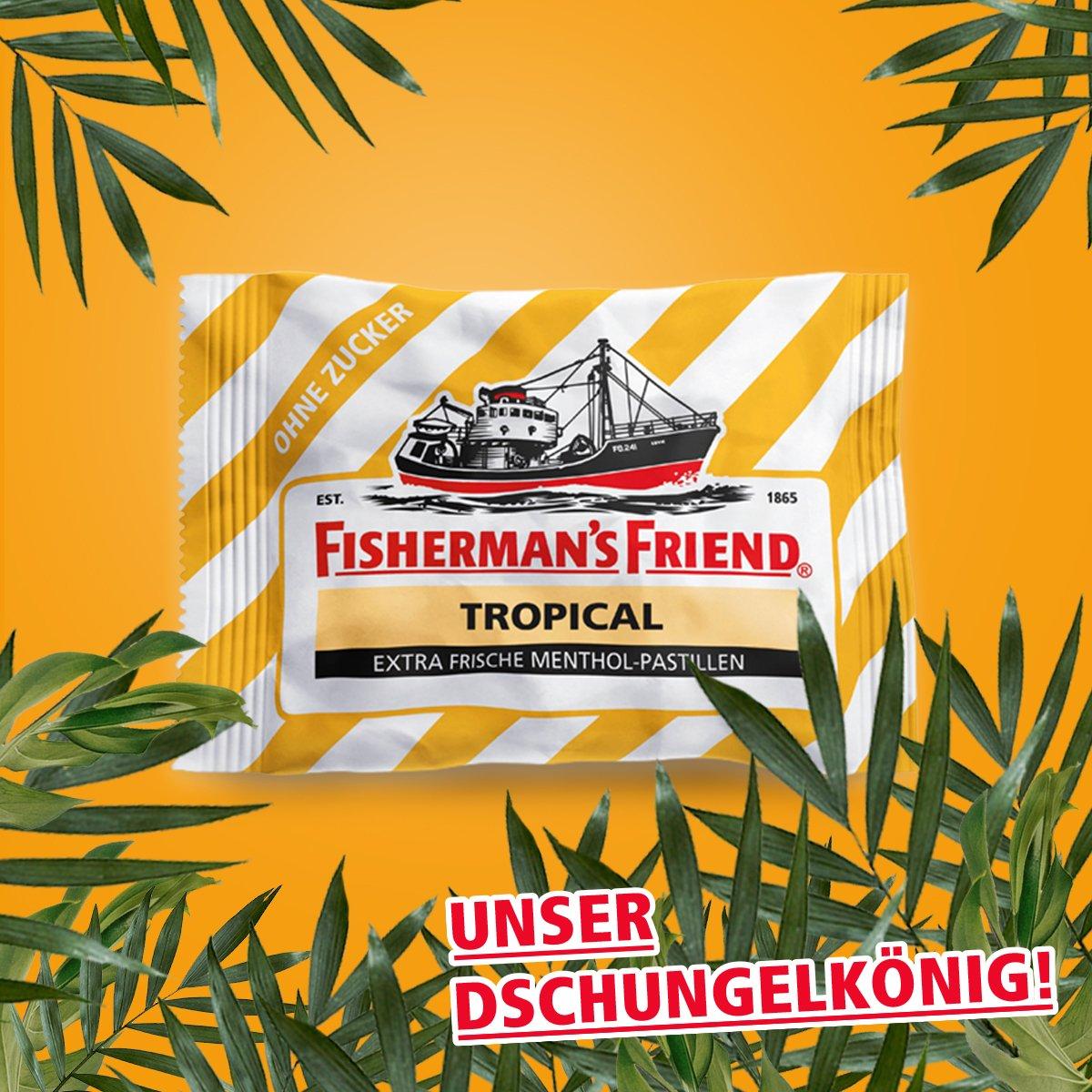 Dschungelcamp ist vorbei. Unser Dschungelkönig bleibt. C'est la vie, wie der Engländer sagt! #IBES2018 #fishermansfriend #ibes https://t.co/mw7hO4oVqG