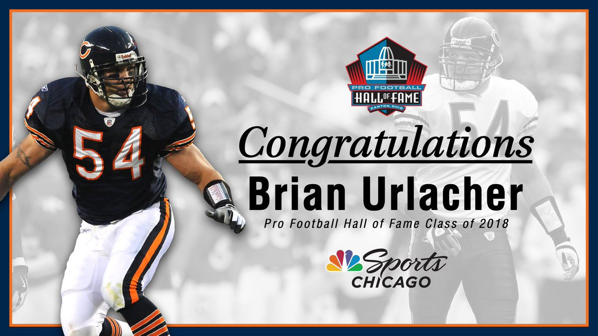 brian urlacher elected to pro football hall of fame on first ballot bfb4466a6